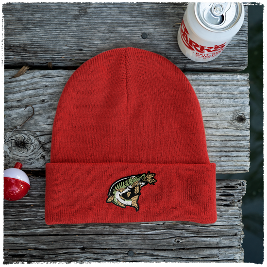 Beanie-Red-Full-Color-Image-Main-Muskie-HD-0043-RFC-MAIN