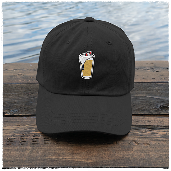 Dad-Hat-Black-Image-Front-Pint-Glass-&-Bobber-HD-0002-B-FRONT