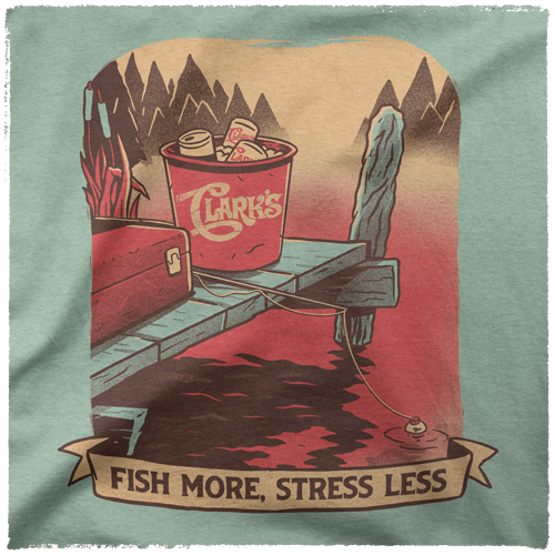 T-Shirt-Heather-Prism-Mint-Image-Detail-Fish-More-AP-0019-HPM-DETAIL